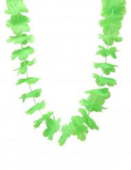 Grönt Hawaii-halsband