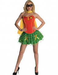 Sexig Robin™ dräkt med kjol dam