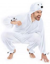 Isbjörn - utklädnad vuxen