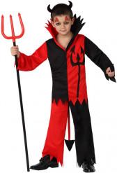 Djävulsdräkt till Halloween för barn