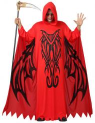 Röd Demondräkt vuxen Halloween