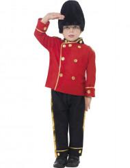 Kostym engelsk högvakt för barn