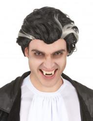 Peruk vampyr svart och vit