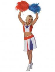 Cheerleader - Utklädnad för vuxen