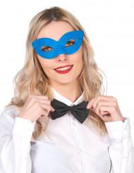Blå maskeradmask för vuxen