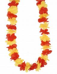 Hawaiihalsband för supporter av Spanien