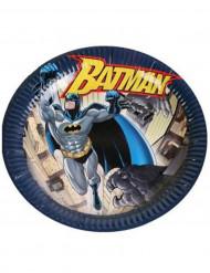 6 Pappers tallrikar 23cm Batman ™
