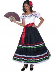 Kostym danserska med andalusisk touche