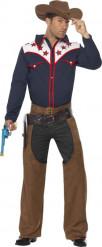 Cowboy - Utklädnad för vuxen