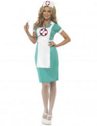 Sjuksköterska - utklädnad vuxen