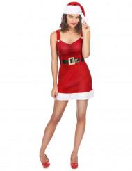 Sexiga tomtemor med sitt bälte - Juldräkt för vuxna