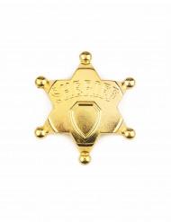 Guldig sheriffstjärna