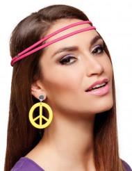 Gula Hippieörhängen