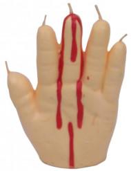 Blödande hand - Ljus till Halloween