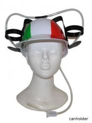 Ölhjälm för Italien-supporter