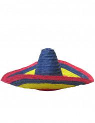 Färgglad mexikansk sombrero