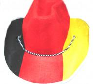 Tysk cowboyhatt för supportern