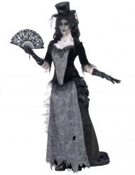 Spökkvinna från 1920-talet - utklädnad vuxen Halloween