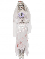 Zombiebrud - utklädnad vuxen Halloween
