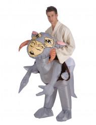 Uppblåsbar Tauntaun™ Carry Me-dräkt