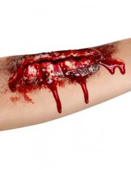 Fusksår till armen - Halloweensmink