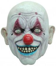 Mask flintskallig clown vuxen