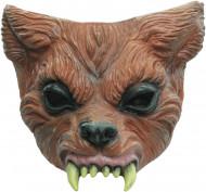 Halvmask varulv vuxen Halloween