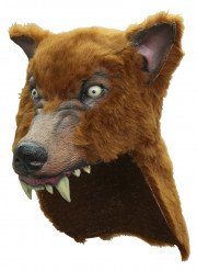 Mask brun björn vuxen