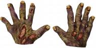 Zombiehänder med står - Halloweentillbehör för vuxna