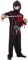Kostym Ninja pojkar