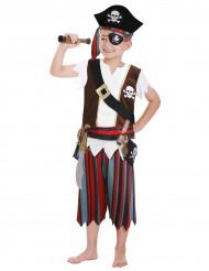 Sjörövarkunfrn - Piratdräkt för barn