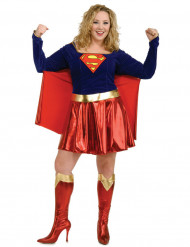 Maskeraddräkt Supergirl™ stor storlek