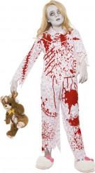 Pyjamaszombie till Halloween för barn