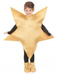 Gyllene stjärnkostym för barn