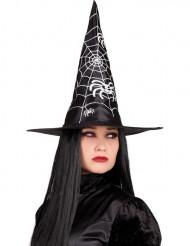 Svart häxhatt Halloween vuxen