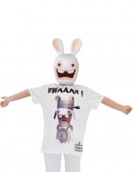Raving Rabbids™ T-shirt och mask för barn