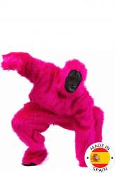Maskeraddräkt gorilla rosa vuxen