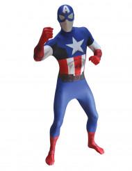 Maskeraddräkt Captain America vuxen Morphsuits™