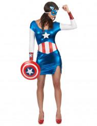 Snygg Captain Girl maskeraddräkt för vuxna