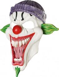 Läskig Clown med mössa - Maskeradmasker för vuxna