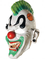 Punkig clownmask vuxen