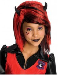 Gotisk peruk barn