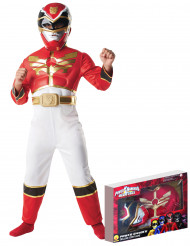 Power Rangers Megaforce™Maskeraddräkt Röd Barn