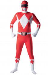 Åtsmitande maskeraddräkt Power Rangers™ vuxan