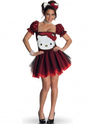 Hello Kitty™ röd damdräkt