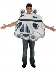 Stormtrooper från Angry Birds™ - Maskeradkläder för vuxna