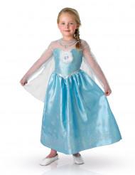 Dräkt Elsa Frost™ Deluxe barn