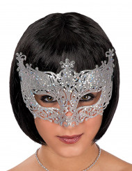 Venetiansk mask silver