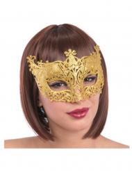 Venetiansk mask i guld