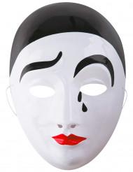 Pierrot mask vuxen